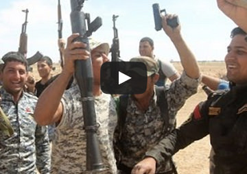 As Iran Talks Progress, American and Iranian Forces Cooperate in Taking Tikrit (Video)