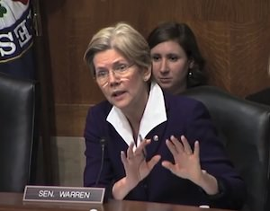 Whom Does Sen. Warren Want to Head the Fed?