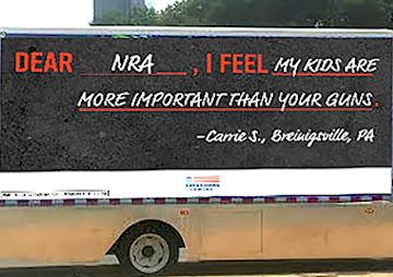 Your Guns or My Kids?