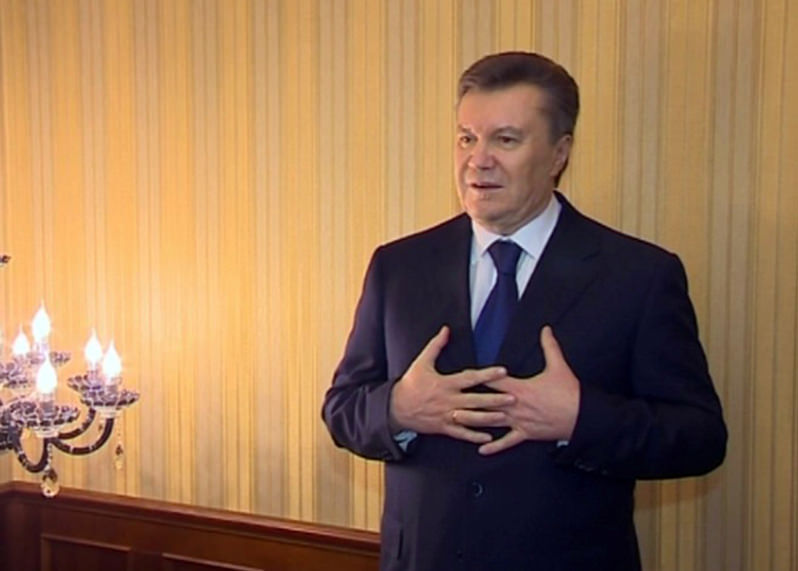 Shortly After Disappearing, Ukraine's President Yanukovych Impeached