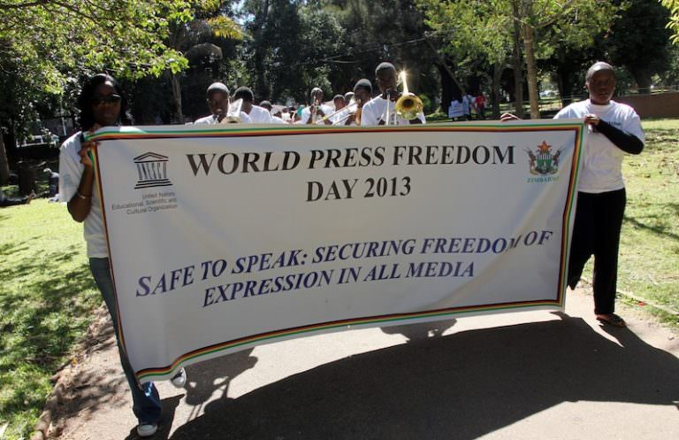 'Freedom of the Press' Just Words on Paper in Zimbabwe