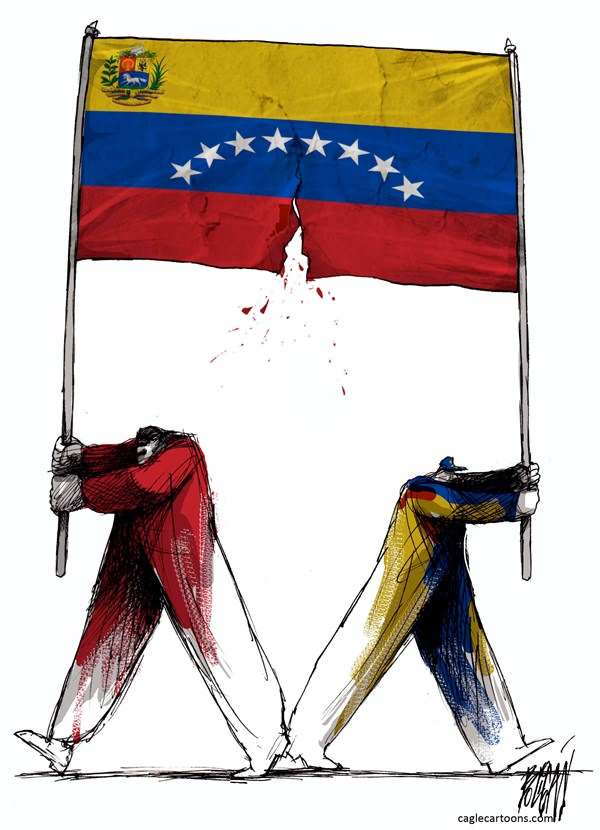 Venezuela Torn by Election Results