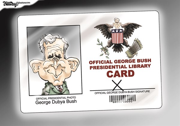 Dubya's Library Card