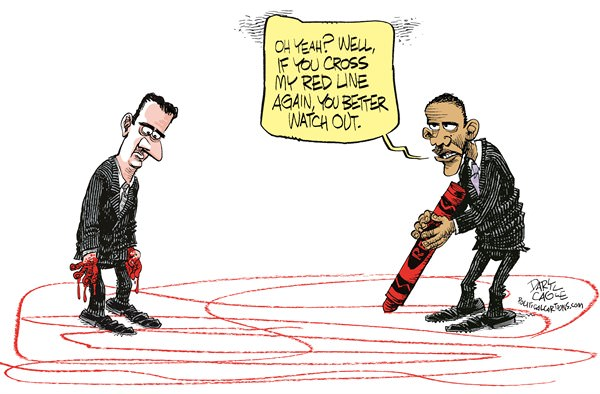 Obama Draws A Red Line On Syria Truthdig Expert Reporting