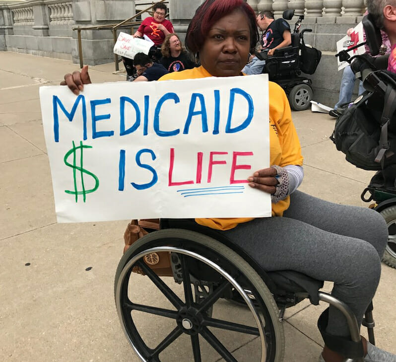 Here's How Republican Lawmakers Are Responding to Medicaid Advocates