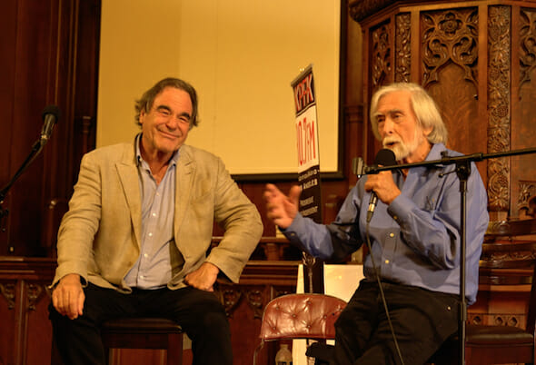 Live at Truthdig: Oliver Stone in Conversation With Robert Scheer