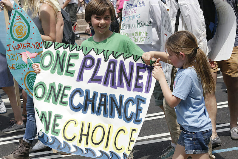 The World's Young Face a $535 Trillion Bill for Climate Change