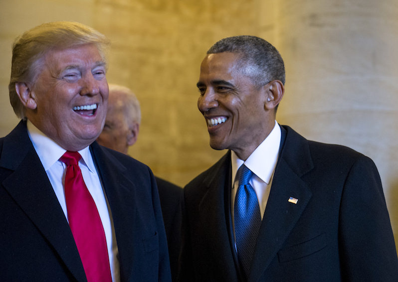 Deceivers in Chief: How Donald Trump and Barack Obama Are Alike