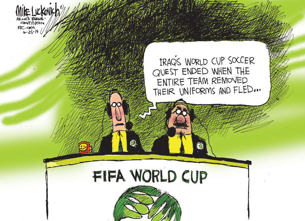 Iraq's World Cup Soccer Quest
