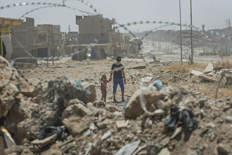 Destroying Mosul to Save It: Possible U.S.-Backed War Crimes in Iraq Are Exposed