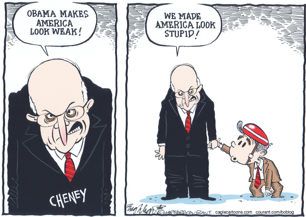 Dick chaney cartoon-3688