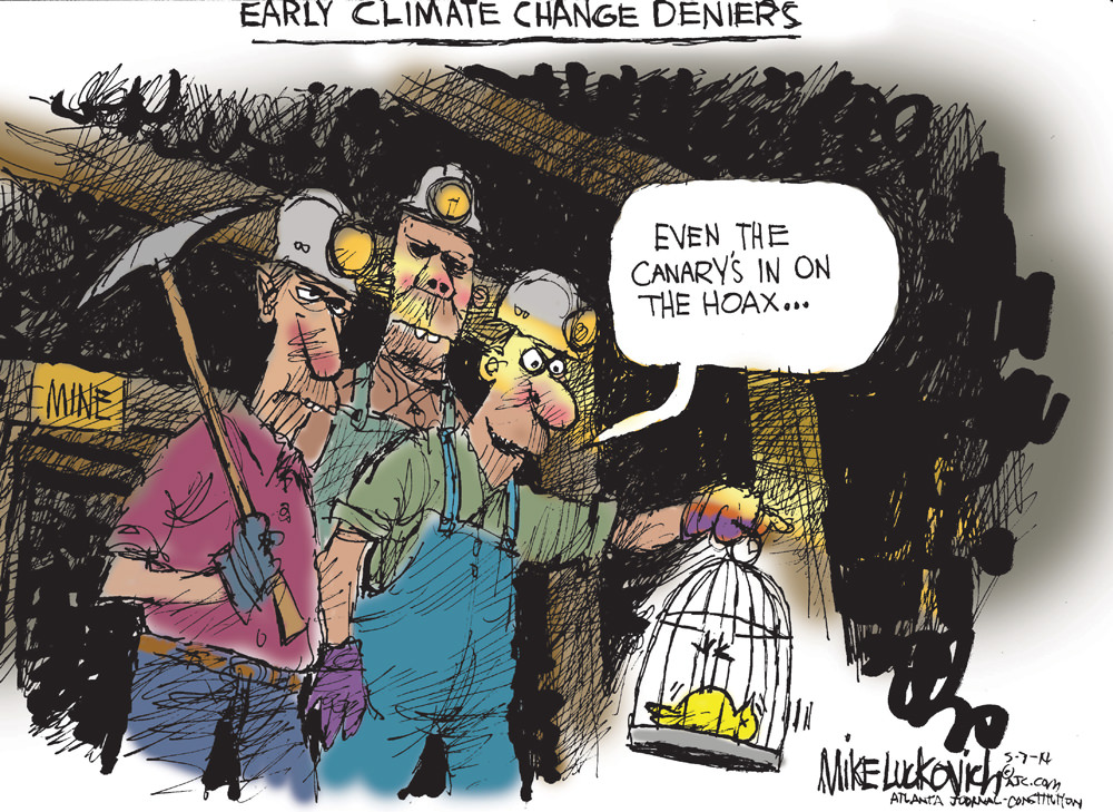 Early Climate Change Deniers