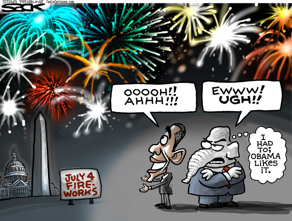 Obama's 4th of July