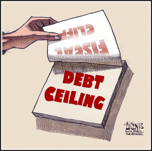 Fiscal Cliff Morphing to Debt Ceiling