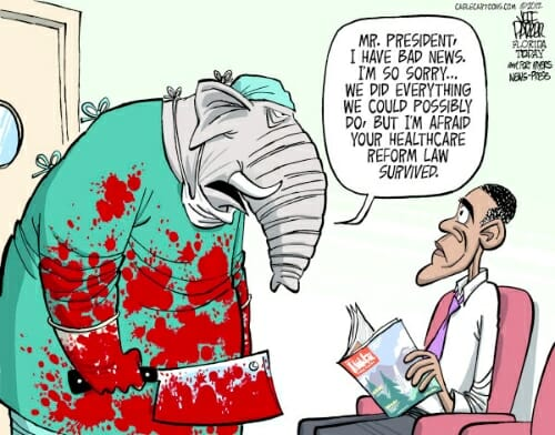 GOP Affordable Care Act Reaction