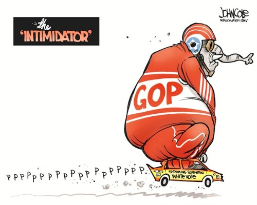GOP and the Shrinking White Southern Vote