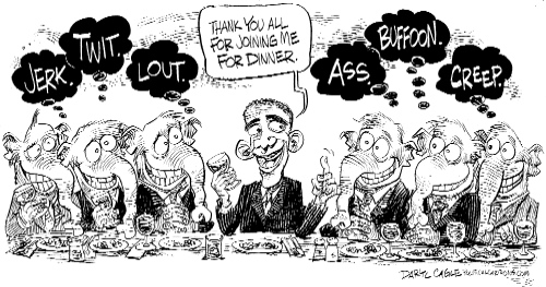 Obama and Republicans Have Dinner