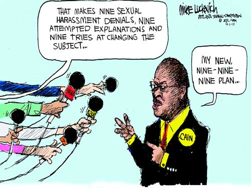 Cain Sexual Harassment Allegations