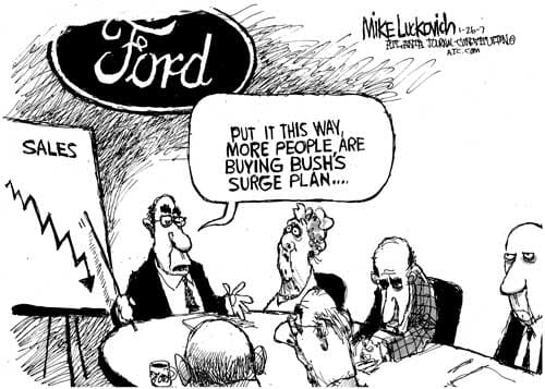 Trouble for Ford