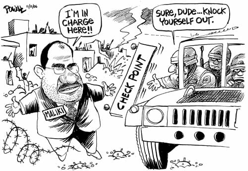 Powell – Maliki in Charge