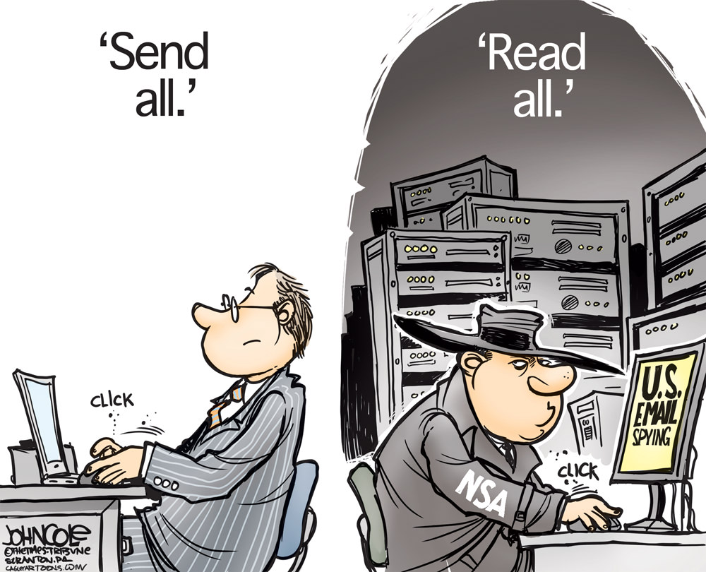 NSA Email Snooping