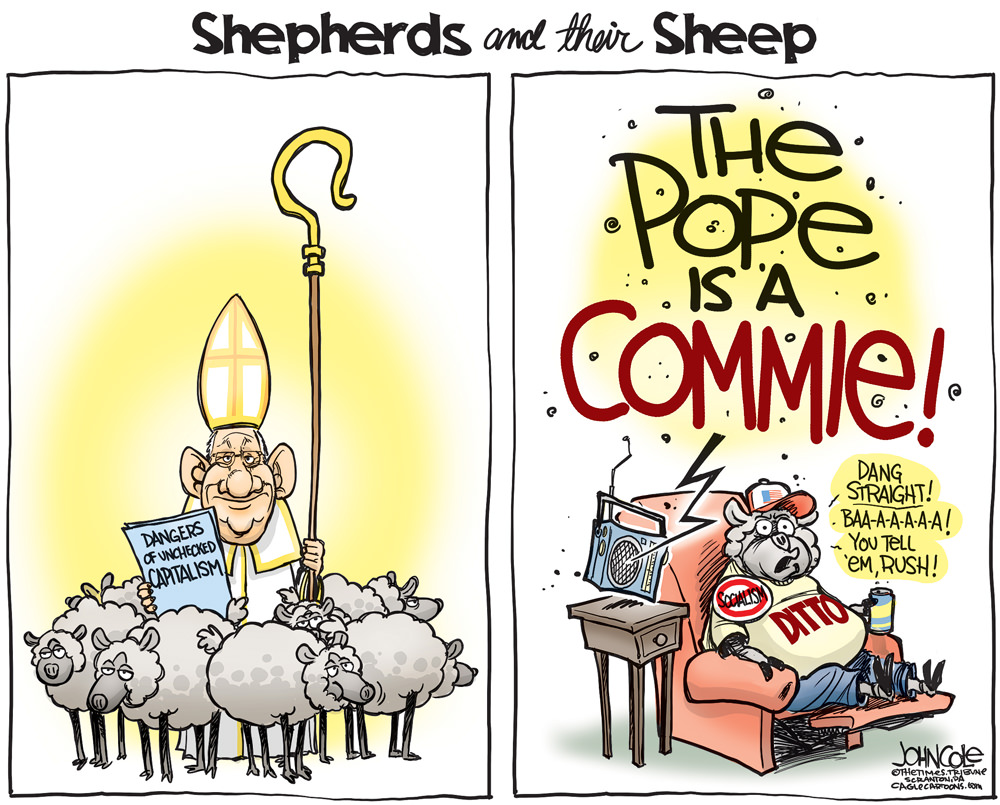 Pope and Limbaugh