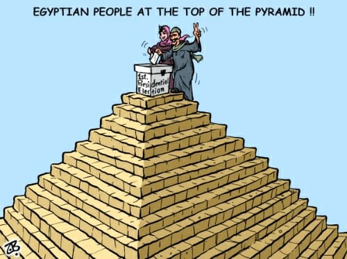 Top of the Pyramid
