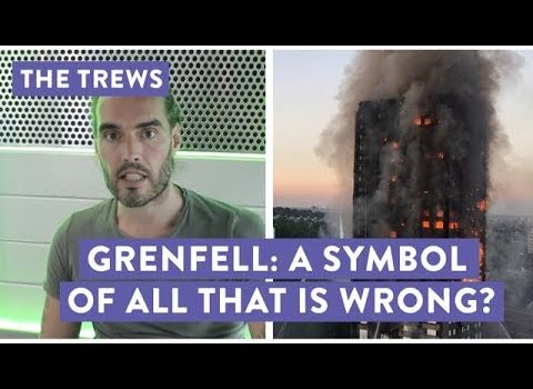 Russell Brand: London's Grenfell Tower Fire Is 'Terrorism' of a Different Kind (Video)