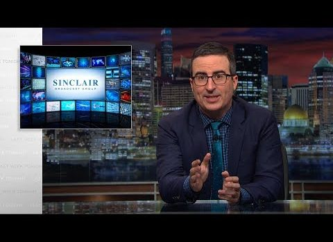 John Oliver: Your Local News Channel May Be Slanting Toward the Hard Right (Video)