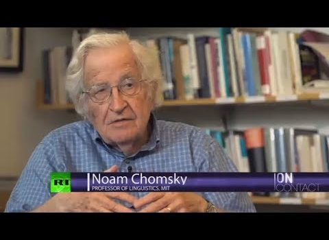 Noam Chomsky to Chris Hedges: 'Everywhere You Look, There's Public Subsidy' (Video)