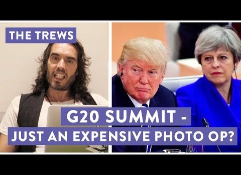 Russell Brand Wonders if Anything Meaningful Will Come From the G-20 Summit (Video)