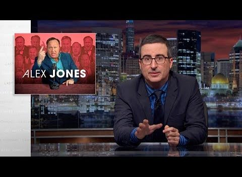 John Oliver Explains How Alex Jones of 'InfoWars' May Be Worse Than You Thought (Video)