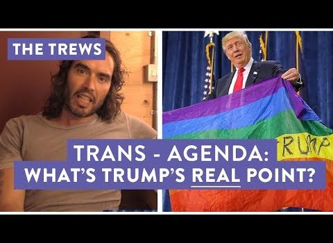 Russell Brand Digs Into Trump's Trans Ban in the Military (Video)