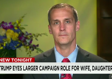 After a Very Bad Month, Donald Trump Fires Campaign Manager Corey Lewandowski