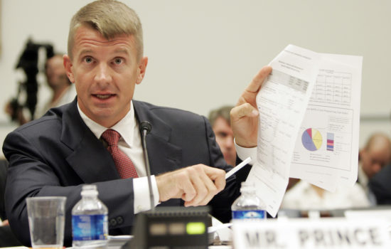 Critic Calls N.Y. Times Op-Ed by Erik Prince an 'Infomercial'