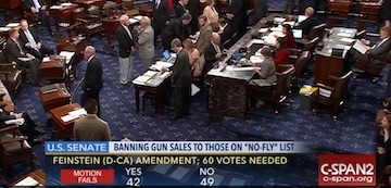 Senate Fails to Pass Four New Gun Safety Bills, Even After the Mass Killing in Orlando