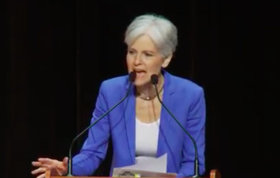 Jill Stein Accepting Green Party Presidential Nomination: 'We Are Saying No to the Lesser Evil'