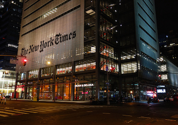 Open Letter Urges New York Times to Help Reverse 'Culture of Silence' on Child Sexual Abuse