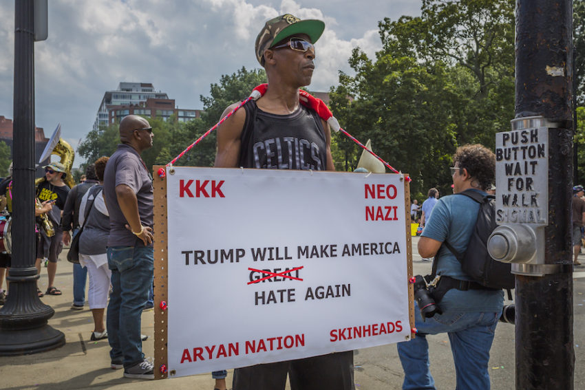 'Mind-boggling': Only 3 percent of voters think Trump discouraged white supremacists