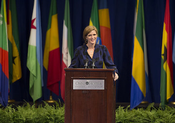 Samantha Power, Former Human Rights Journalist, to Receive Award From Henry Kissinger