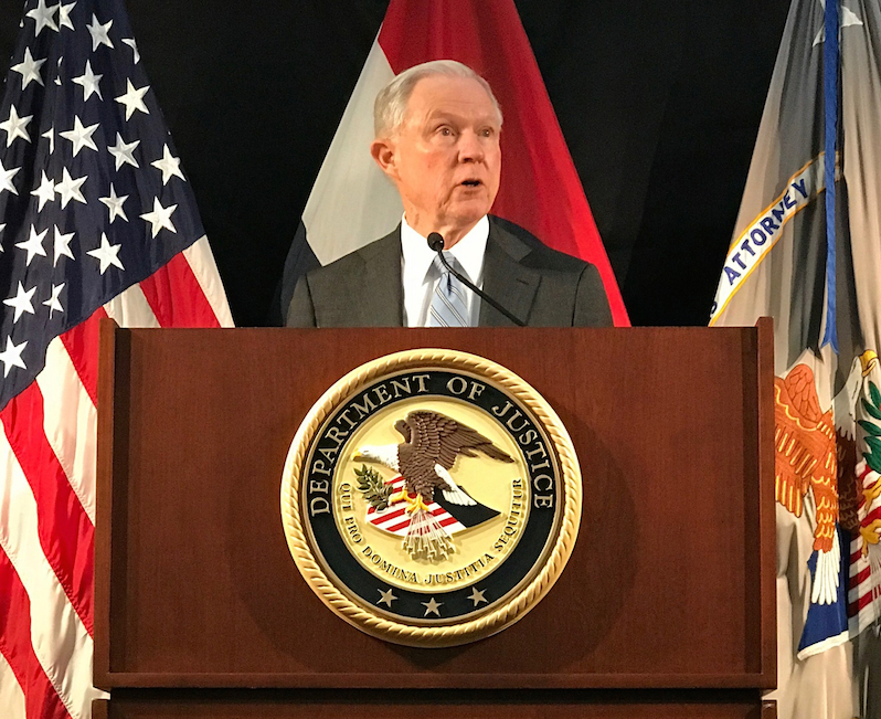 Attorney General Jeff Sessions Declares War on Leaks