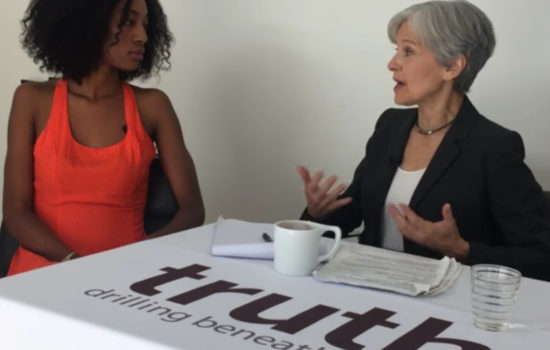 Jill Stein Doesn't Want to 'Whitewash Our Dialogue' When It Comes to Race (Video)