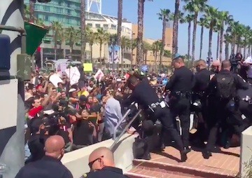 35 Arrested at Donald Trump Rally in San Diego