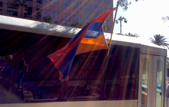 Armenians Demand Recognition of Genocide at Los Angeles Protest