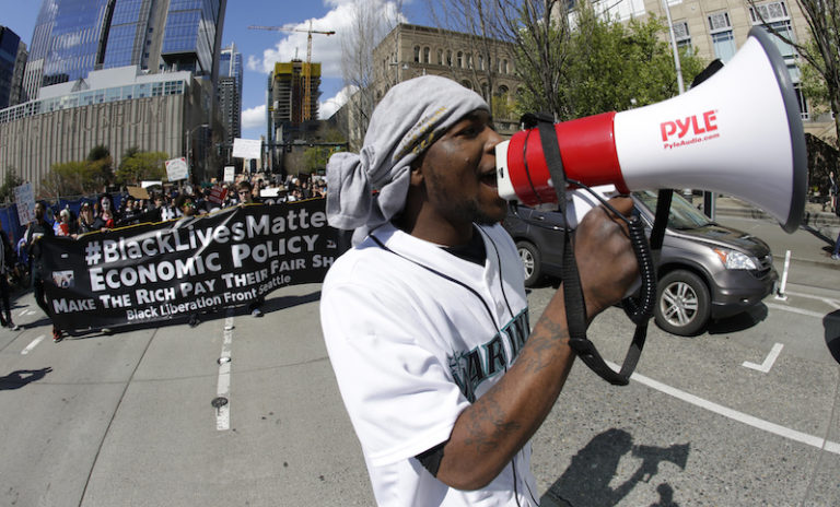Whiting Out Black Lives Matter