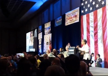 Tensions Flare, State Chairwoman Flees in Delegate Dispute at Nevada Democratic Convention (Video)
