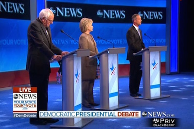 The Third Democratic Debate: The Gloves Come Off