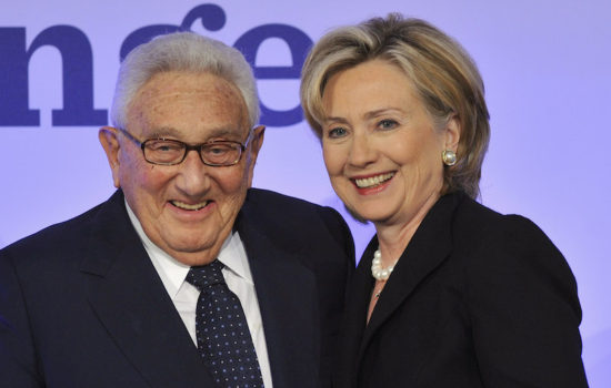Can Hillary Clinton Renounce Henry Kissinger?
