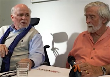 Ron Kovic Questions Hillary Clinton and Donald Trump's 'Need to Go to War'