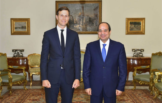 Egypt's Leader, Kushner Meet After Cut in American Aid